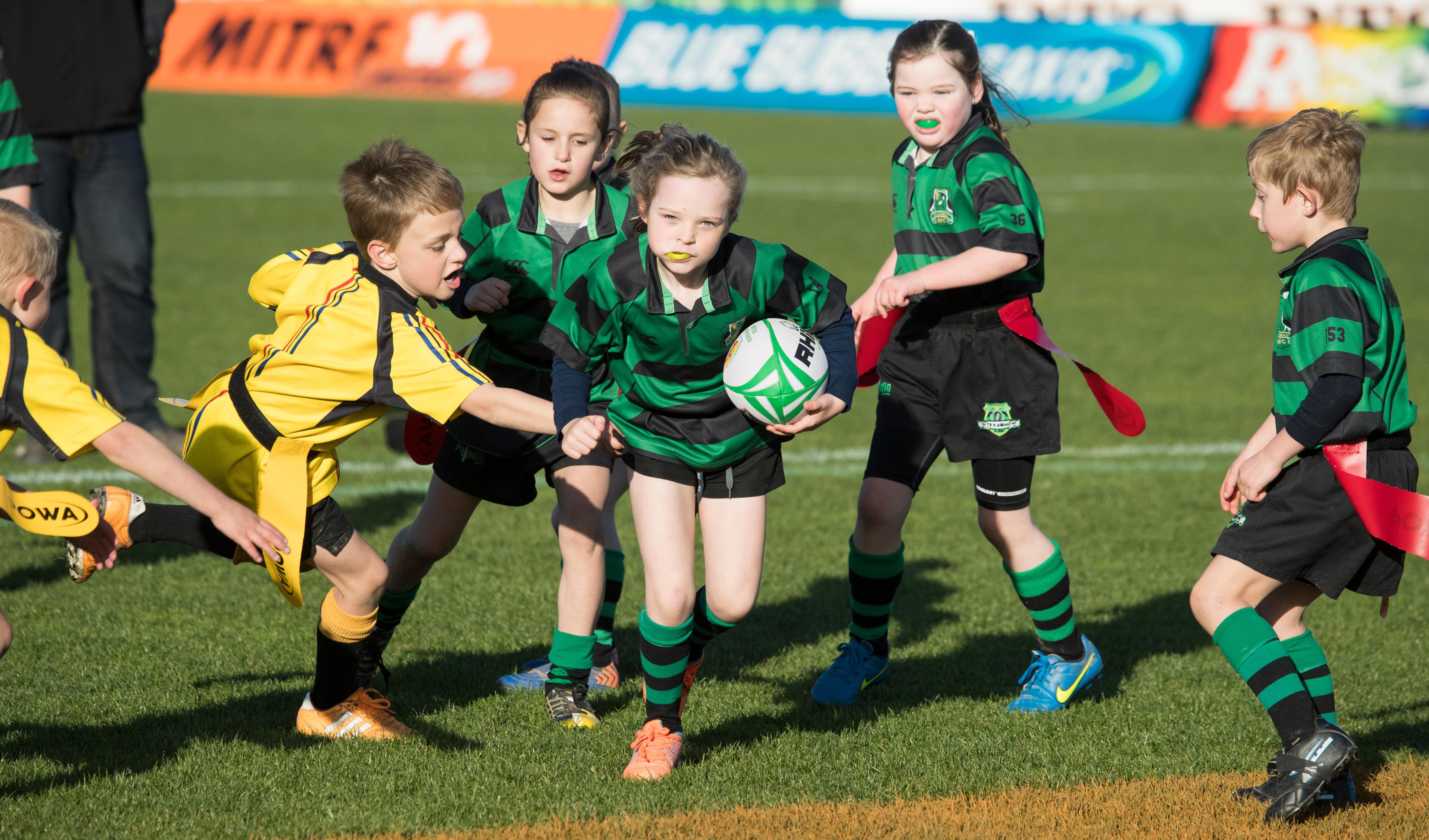 Manawatu Junior Rugby is underway!
