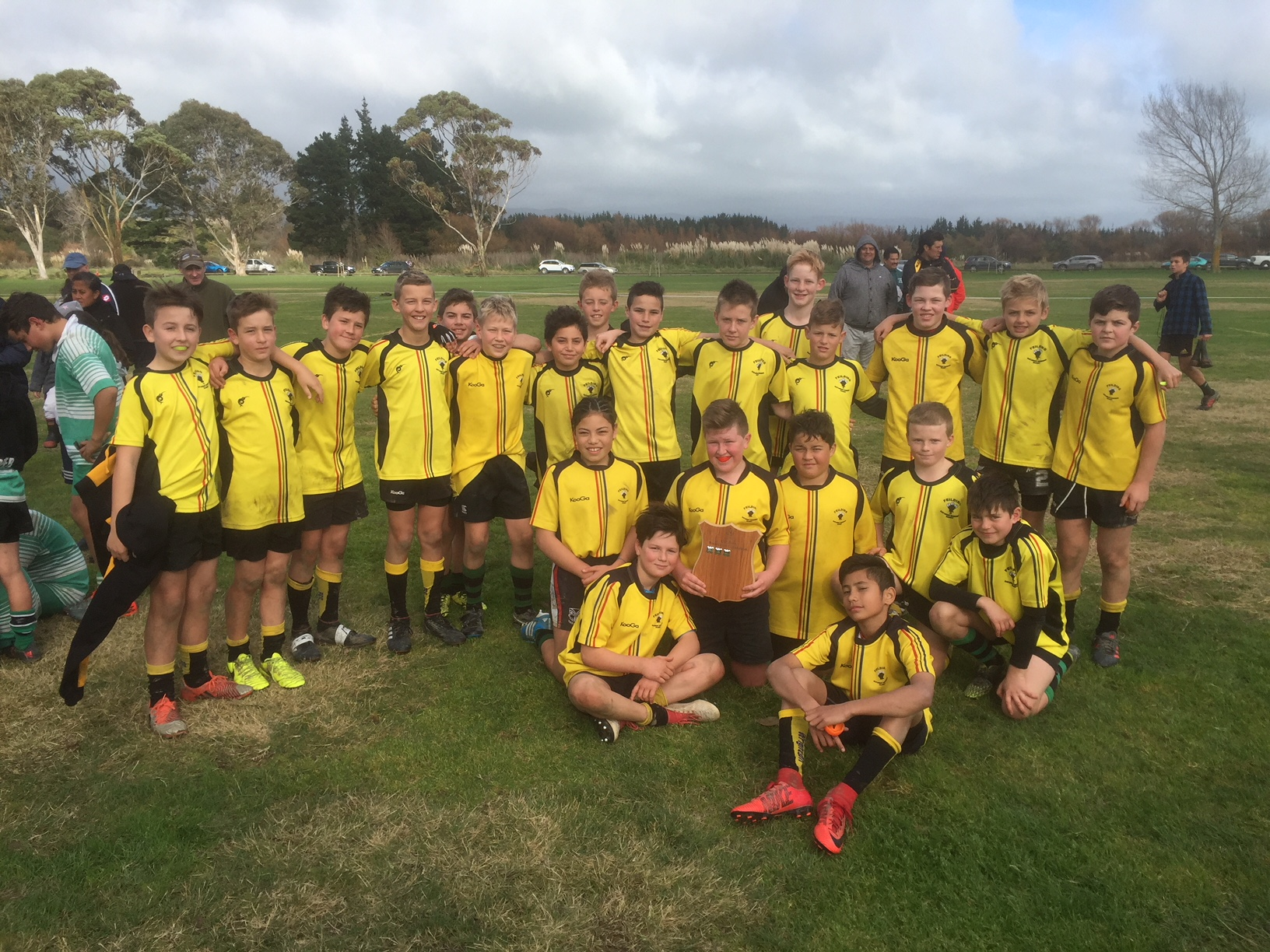 Under 12 Trial Squad named after Oroua claim Zone Tournament