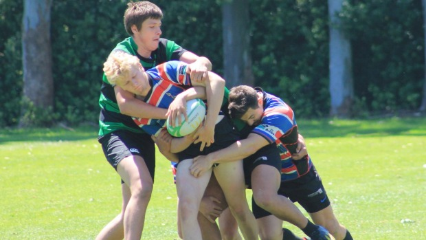Varsity and FOBO claim club 7's titles