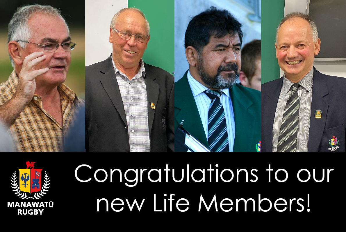 Four new life members confirmed