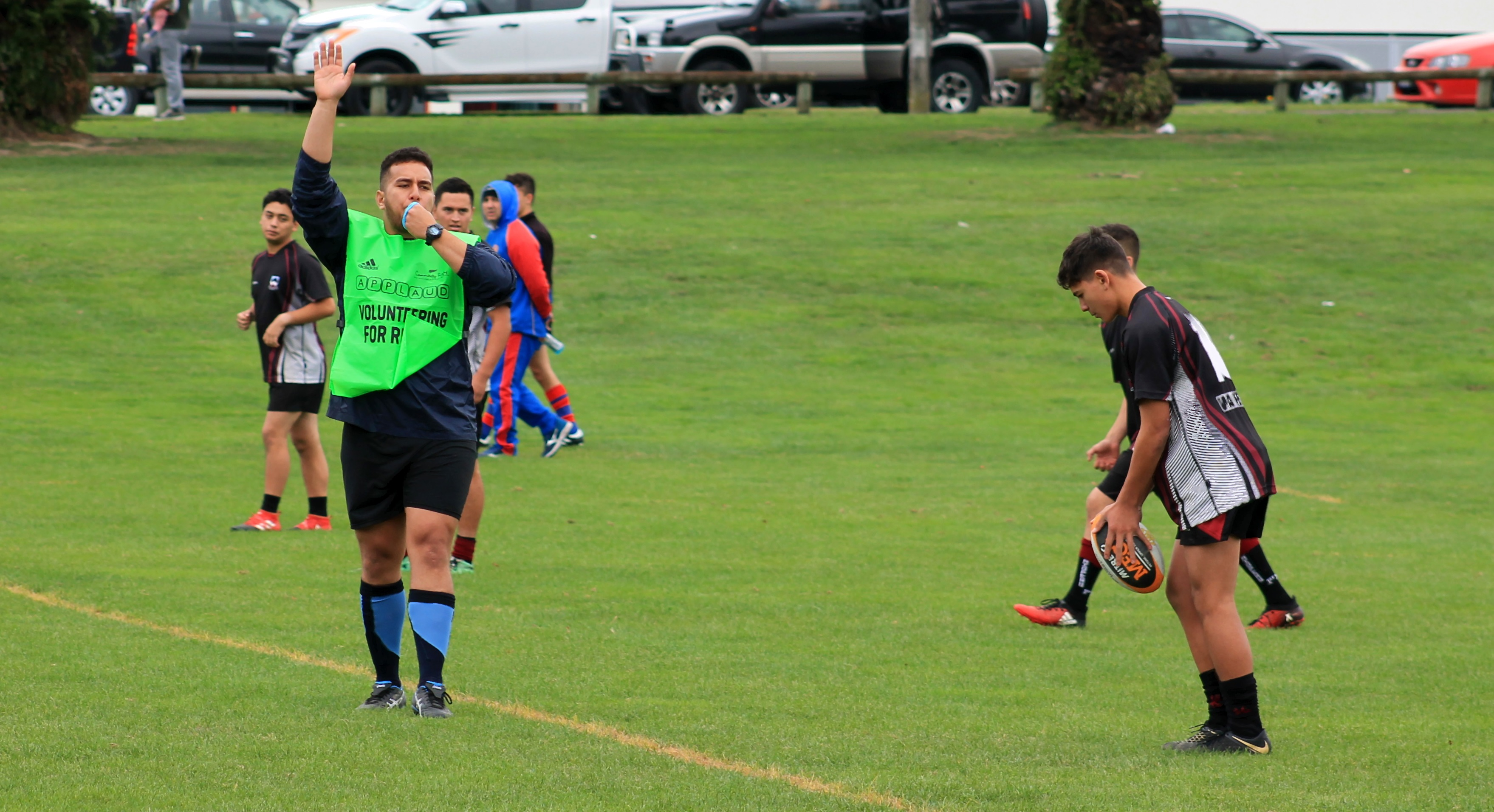 Club referee initiative continues to show positive results