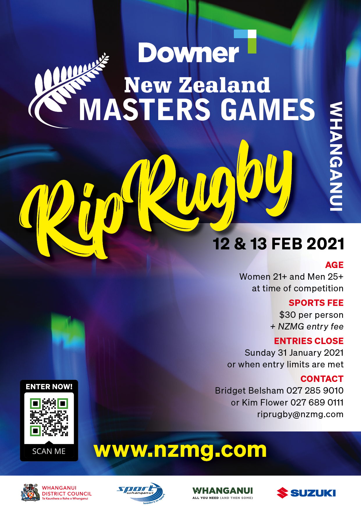 NZ Masters Games Rip Rugby